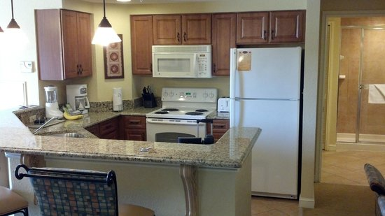 Wyndham Bonnet Creek Resort:                   Kitchen of 1 bedroom deluxe