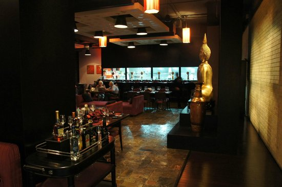Holiday Inn Dubai - Al Barsha: Thai restaurant in hotel