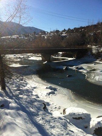 Animas River Trail : Animas River with bridge