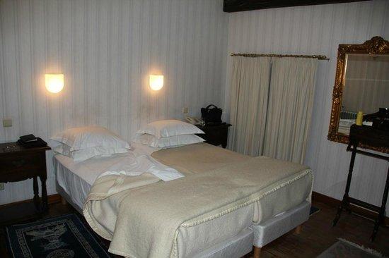 Chateau de Vignee :                   Hotelkamer.