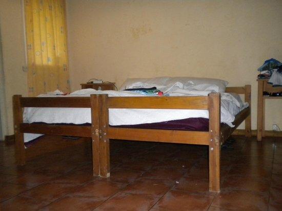 Refugio del Angel:                   habitación matrimonial