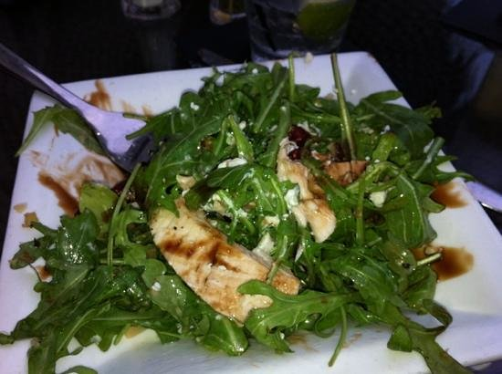 Arugula Salad With Chicken Picture Of City Fire The Villages