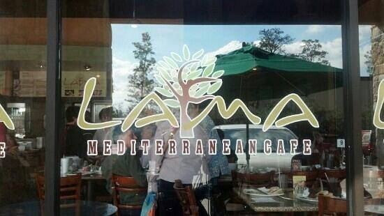 Lama Mediterranean Cafe : the Lama