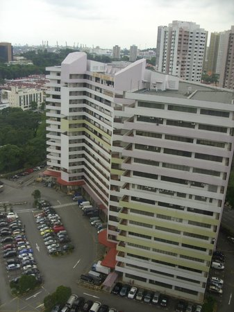 Holiday Inn Singapore Atrium: Aus dem Fenster_2