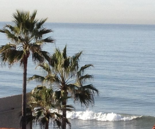 Carlsbad Inn Beach Resort:                   We love being steps from the beach!