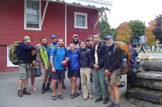 Appalachian Trail Lodge: Appalachian Trail thru-hikers