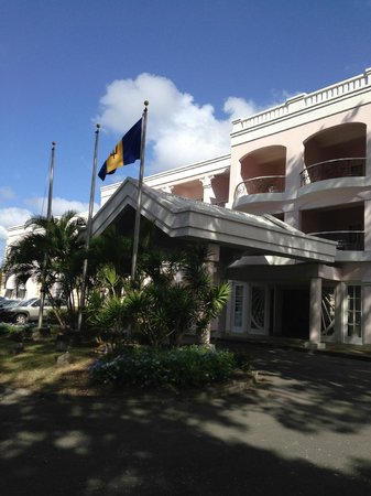 Hotel PomMarine: Entrance