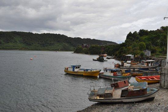 Puerto Montt, Chili: View from the marketplace