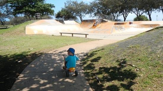 Bargara Beach Caravan Park: Skate bowl