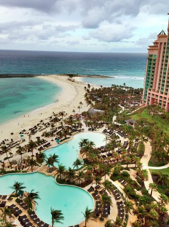 The Reef Atlantis, Autograph Collection:                   same balcony room view from 18th floor room