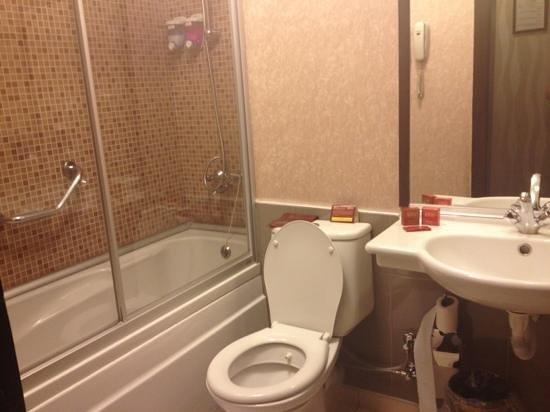Gurkent Hotel:                   banyo