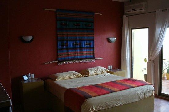 Bahia Tortuga:                   Room, simple but beautiful