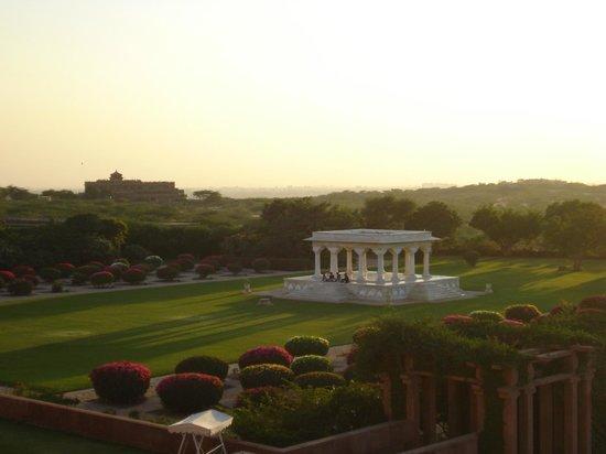 Umaid Bhawan Palace Jodhpur : view from the room