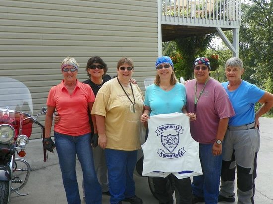 Sweetberries Bed and Breakfast: Nashville Chapter Motor Maids riding club