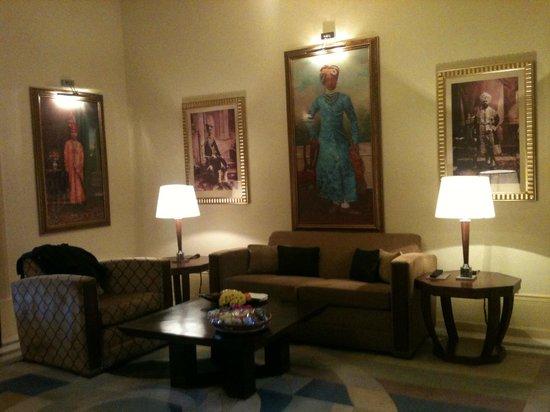 Umaid Bhawan Palace Jodhpur : sitting area in the room