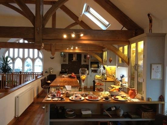 The Old Church, Horncliffe:                   breakfast was fab