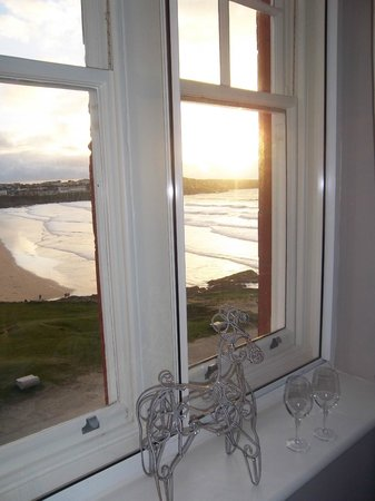 The Headland Hotel & Spa - Newquay:                   Gorgeous room view