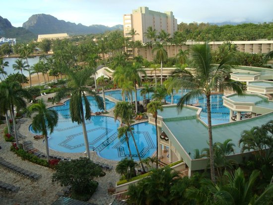 Kaua'i Marriott Resort:                   Loved every minute looking out the balcony!
