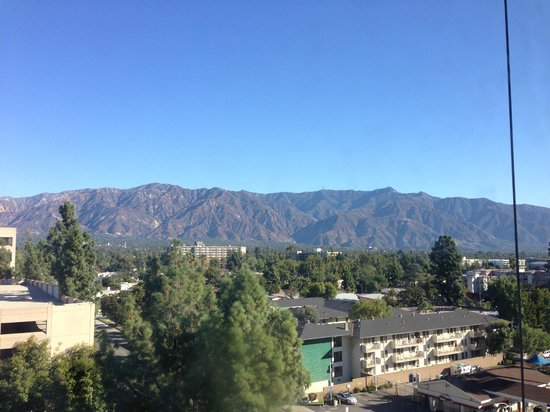 The Westin Pasadena: view from our room - San Gabriel Valley