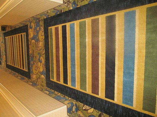 Holiday Inn Express Hotel & Suites Perry: Hallway rugs ... very pretty