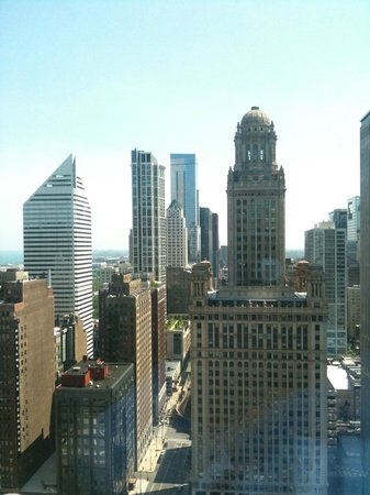 Trump International Hotel & Tower Chicago:                   View from my room!!