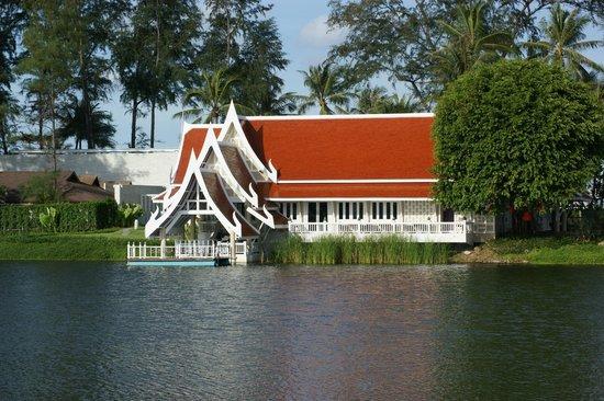 Angsana Laguna Phuket:                   Restaurante Tailândes