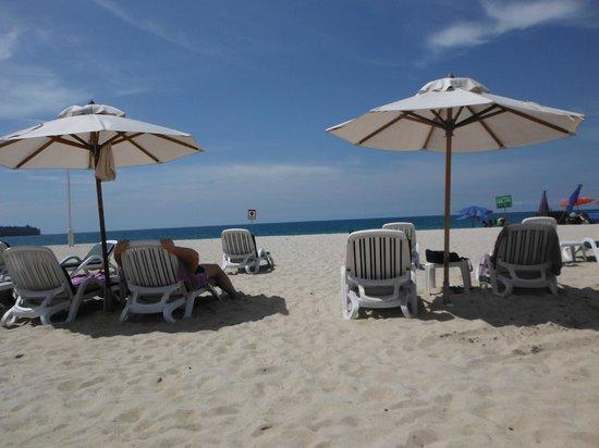 Angsana Laguna Phuket:                   A praia