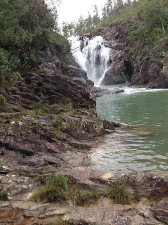 Mountain Pine Ridge Forest Reserve:                   Big Rock Falls