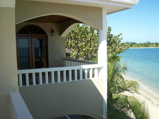 Los Porticos Villas:                   Balcony off Master bedroom