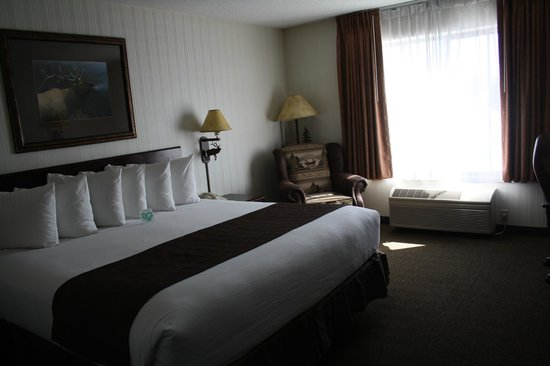ClubHouse Inn West Yellowstone :                   Our room