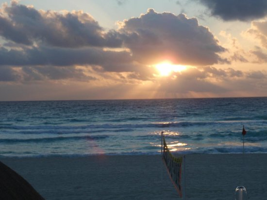 Golden Parnassus All Inclusive Resort & Spa Cancun:                   Sunrise