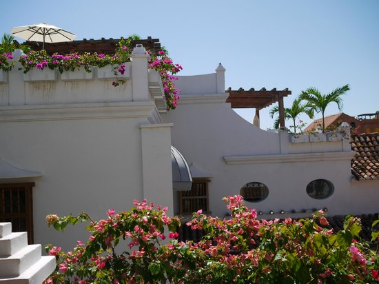 Hotel Casa San Agustin:                   View from the Terrace.