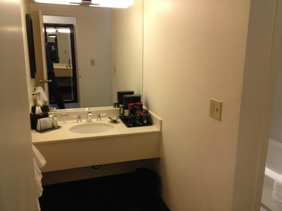 Washington Plaza Hotel:                   Bathroom Sink