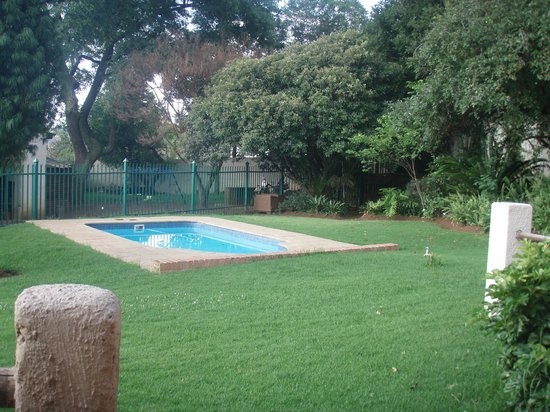Johannesburg Backpackers:                   pool on-site