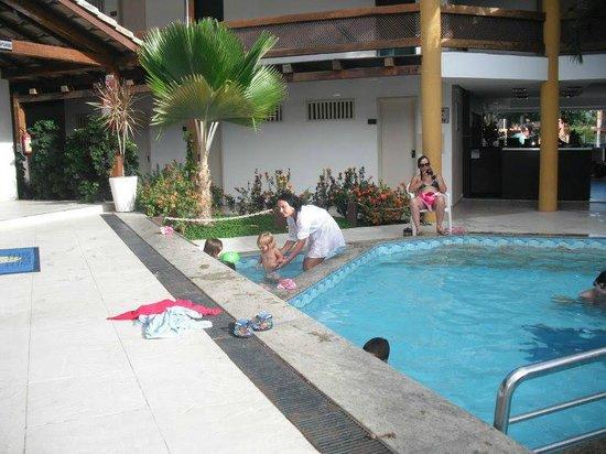 Hotel Casa Blanca:                   área da piscina..
