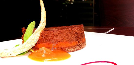 Atton Hotel El Bosque: Tarta de Chocolate de Mediterráneo Restaurant