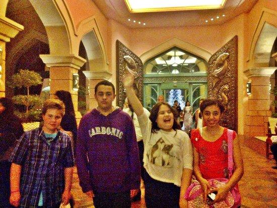 فندق اتلانتس ذا بالم: Main Entrance