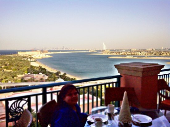 Atlantis, The Palm: View from Club room
