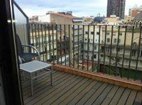 โรงแรมแอตาเอเทรียมพาเลส:                   view on balcony