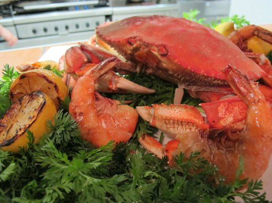 Cow Cafe: Fresh Local Crab