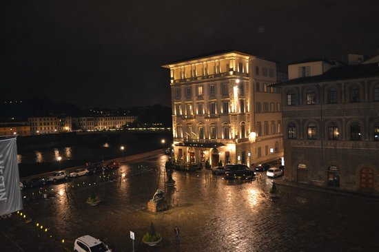The Westin Excelsior Florence:                   view from room