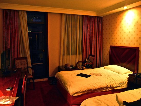 Jinjiang Inn Shanghai Nanjing Hotel:                   The Room (for two people)