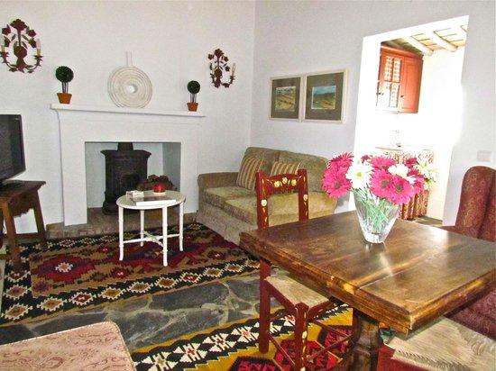 Agua d'Alte: Living room of Malhadas's House