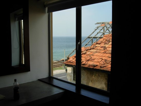 The Ocean Front:                   View from room