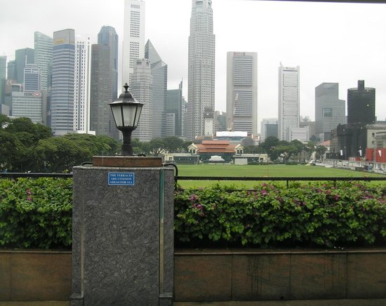 The Residence At Singapore Recreation Club: View from terrace outside room 309