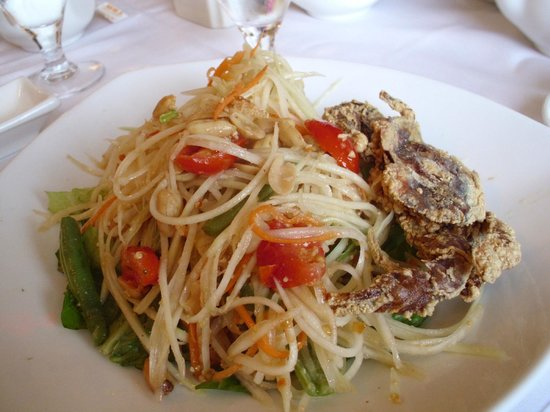 Swadee Thai house:                   Soft shell crab salad