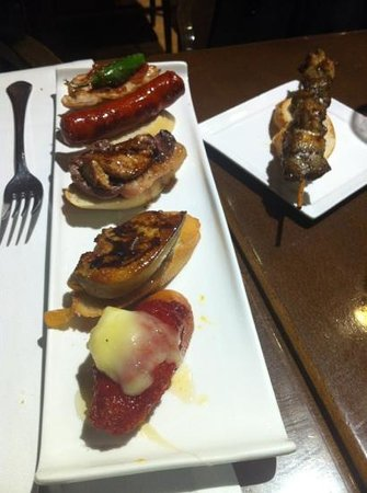 Zarautz Taberna Vasca :                   wonderful tapas
