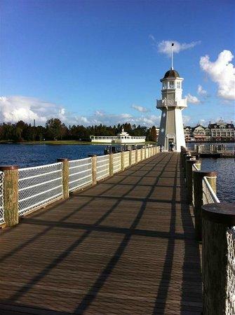 Disney's Beach Club Resort:                   Pier/Ferry dock                 