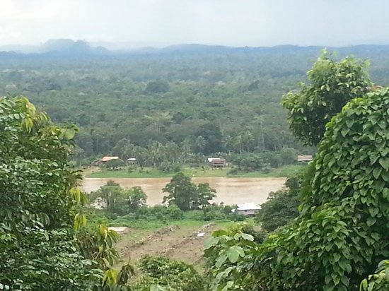 ‪‪The Last Frontier Boutique Resort‬:                   View of Kinabantang River