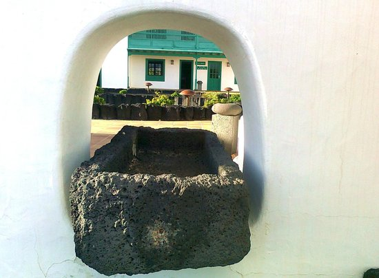 Casa Museo Monumento al Campesino:                   pileta